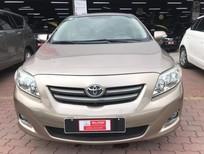 Bán xe Toyota Corolla altis 1.8G sản xuất năm 2009, màu nâu số tự động