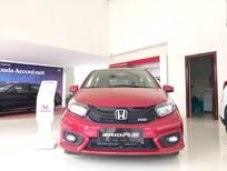 Honda ô tô Thanh Hóa giao ngay Brio 1.5 RS, màu đỏ, đời 2019, LH 0962028368