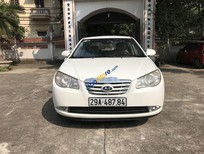 Cần bán Hyundai Elantra MT năm 2012, màu trắng xe nguyên bản