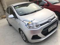 Cần bán Hyundai Grand i10 năm sản xuất 2015, màu bạc, nhập khẩu