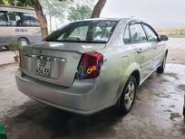 Cần bán xe Daewoo Lacetti sản xuất 2009, màu bạc