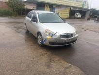 Cần bán Hyundai Verna sản xuất 2008, màu bạc