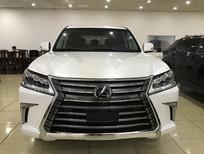 Bán Lexus LX570 màu trắng, nhập mỹ, đăng ký 2016, full option, biển Hà Nội.