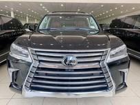 Bán Lexus LX570 nhập Mỹ, sản xuất 2019, màu đen, nội thất nâu, xe giao ngay