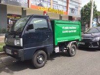 Bán xe ben chở rác Suzuki 500kg thùng 2 khối vào hửm