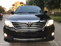 Bán Toyota Fortuner 2.7V đời 2013, màu đen