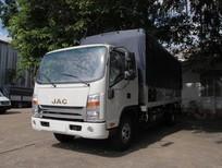 Xe tải JAC N650 đầu vuông động cơ Cummins thùng 5.2m, trả trước 100 triệu nhận xe