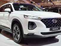 Bán ô tô Hyundai Santa Fe 2020 tiêu chuẩn màu trắng giá ưu đãi