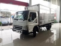 Bán xe tải Nhật Fuso 3.5 tấn Fuso Canter 6.5 thùng dài 4.35 mét tại Hải Phòng