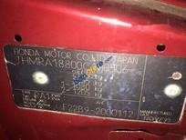 Bán Honda Odyssey năm sản xuất 1996, màu đỏ, nhập khẩu nguyên chiếc số tự động