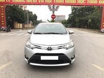 Bán xe Toyota Vios 1.5E 2014, màu bạc