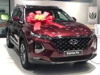 Hyundai Santa Fe khuyến mãi hấp dẫn lên đến 50 triệu, tặng phụ kiện cao cấp.