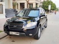 Cần bán Hyundai Santa Fe sản xuất 2007, màu đen, nhập khẩu còn mới, 348tr