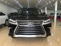 Giao ngay Lexus LX570 Luxury xuất Mỹ 2020 màu đen nội thất nâu