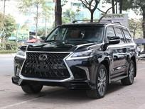 Bán ô tô Lexus LX 570 2021, màu đen, nhập Mỹ, xe mới 100%