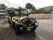 Bán Jeep CJ năm sản xuất 1990, màu xanh lam, nhập khẩu
