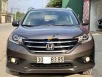 Cần bán gấp Honda CR V sản xuất năm 2013, màu xám