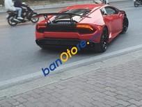 Xe Lamborghini Huracan LP580 năm 2015, màu đỏ