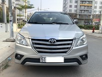 Bán Toyota Innova sản xuất 2015, màu bạc, xe gia đình