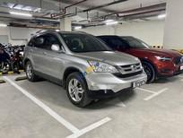 Bán Honda CR V sản xuất năm 2010, màu bạc còn mới, 480tr