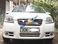 Cần bán xe Daewoo Gentra sản xuất năm 2008, màu trắng xe gia đình
