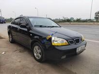 Cần bán xe Daewoo Lacetti năm sản xuất 2005, màu đen xe gia đình