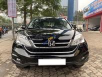 Bán Honda CR V năm sản xuất 2010, màu đen còn mới giá cạnh tranh
