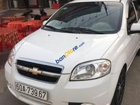 Cần bán gấp Chevrolet Aveo năm 2012, màu trắng còn mới