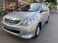 Bán xe Toyota Innova J năm sản xuất 2008, màu bạc chính chủ giá cạnh tranh