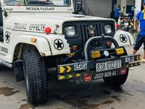 Cần bán gấp Jeep CJ 5 2.5 MT sản xuất năm 1990, màu trắng, xe nhập chính chủ