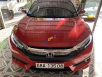 Cần bán Honda Civic năm 2017, màu đỏ, nhập khẩu nguyên chiếc, giá tốt