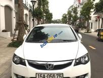Cần bán gấp Honda Civic năm 2012, màu trắng, 399tr