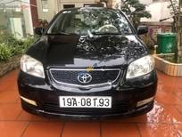 Bán xe Toyota Vios sản xuất năm 2004, màu đen còn mới, giá 210tr