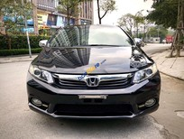 Bán Honda Civic năm sản xuất 2012, màu đen