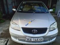 Bán ô tô Toyota Vios sản xuất 2004, màu bạc xe gia đình, giá chỉ 142 triệu