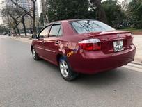 Xe Toyota Vios năm 2007, màu đỏ chính chủ, giá 165tr