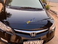 Cần bán Honda Civic đời 2008, màu đen, 350tr
