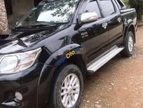 Bán xe cũ Toyota Hilux 2012, màu đen, nhập khẩu