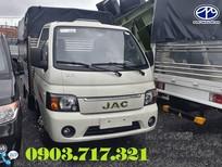 Bán xe Jac X125 tải 1250kg mới 2019 - 2020, giá bán trả góp xe tải Jac X5 tải 1225kg mui bạt