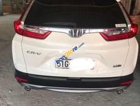 Bán xe Honda CR V sản xuất năm 2018, màu trắng, nhập khẩu nguyên chiếc ít sử dụng, giá chỉ 910 triệu