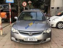 Cần bán xe Honda Civic sản xuất năm 2008, màu xám