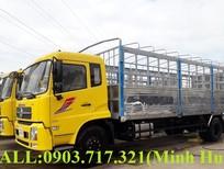 Bán xe tải DongFeng B180 thùng 7m7, Dongfeng B180 6 máy tải 9150kg nhập khẩu 2019