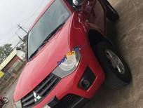 Cần bán lại xe Mitsubishi Triton sản xuất năm 2013, màu đỏ, 315tr