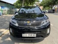 Cần bán Kia Sorento năm sản xuất 2017, màu đen số tự động, giá 705tr