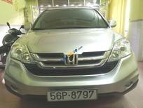 Bán Honda CR V sản xuất 2010, màu bạc còn mới