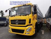 Bán xe tải Dongfeng Hoàng Huy 4 chân 17.9 tấn (17T9) thùng dài 9m5