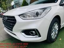Bán xe Hyundai Accent 2020, màu trắng số tự động, hỗ trợ đăng kí kinh doanh, LH Hữu Hân