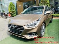 Bán ô tô Hyundai Accent 2020, màu nâu số tự động, xe giao ngay tại Quảng Bình, LH Hữu Hân