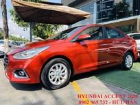Bán ô tô Hyundai Accent 2020 màu đỏ, khuyến mãi khủng tại Quảng Bình, LH Hữu Hân