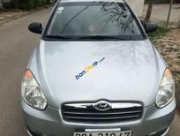 Bán Hyundai Verna sản xuất năm 2008, màu bạc, xe nhập